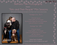Pets and their people flyer
